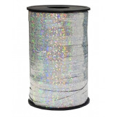 Лента (0,5 см*250 м) Серебро, Голография, 1 шт.