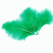 Перья, Зеленый, 10*15 см, 30 шт.