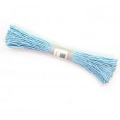 Шнур бумажный (0,2 см*47 м) Голубой...