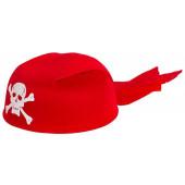 Шляпа Бандана, Пират, Красный...