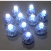 Подсветка в шар Белого свечения, Круглая, 10 шт
