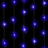 Светодиодная нить Голубого свечения, 30 Led, 3 м