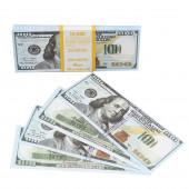 Деньги для выкупа, 100 Долларов, 16*7 см, 98 шт.