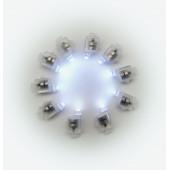 Подсветка в шар Белого свечения, 10 шт