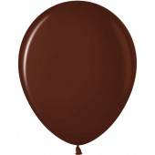 Шар (10''/25 см) Шоколадный (442), пастель, 100 шт.