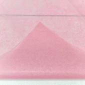 Упаковочная бумага, Тишью (0,5*0,65 м) Розовый, 10 шт.