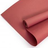 Упаковочная бумага, Крафт 70гр (0,7*10 м) Темно-розовый, 1 шт.