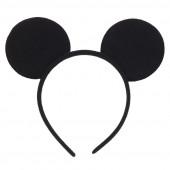 Ободок Мышка, Черный, 1 шт.