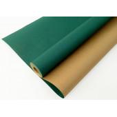Упаковочная бумага, Крафт 70гр (0,7*10 м) Экошик, Изумрудный, 1 ст, 1 шт.