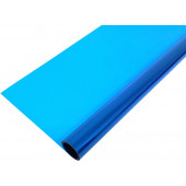 Упаковочная пленка матовая (0,7*7,5 м) Небесно-голубой, 1 шт.