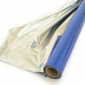 Полисилк (1*20 м) Синий/Серебро, 1 шт.