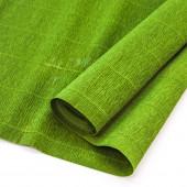Упаковочная гофрированная бумага (0,5*2,5 м) Темно-зеленый, 1 шт.