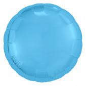 Шар (30''/76 см) Круг, Холодно-голубой, 1 шт. в упак.
