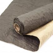 Упаковочная жатая бумага, Крафт (0,6*4,5 м) Черный, 1 шт.