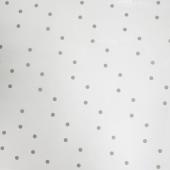 Упаковочная пленка (0,7*7,5 м) Точки, Серый, 1 шт.